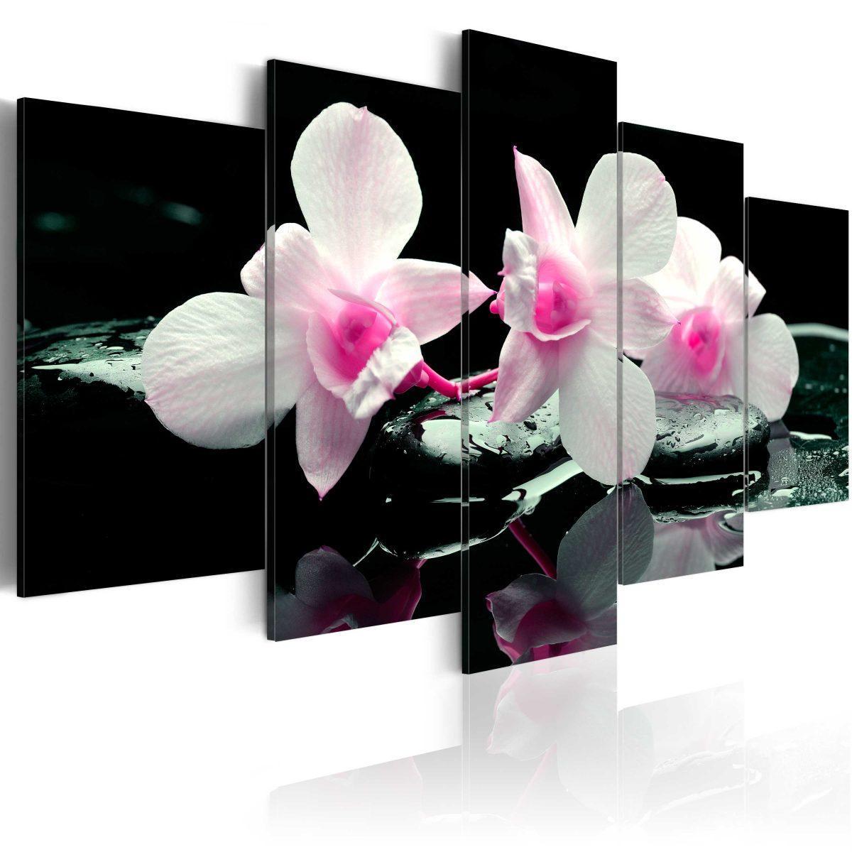 Canvas Tavla - Rest of orchids - 200x100