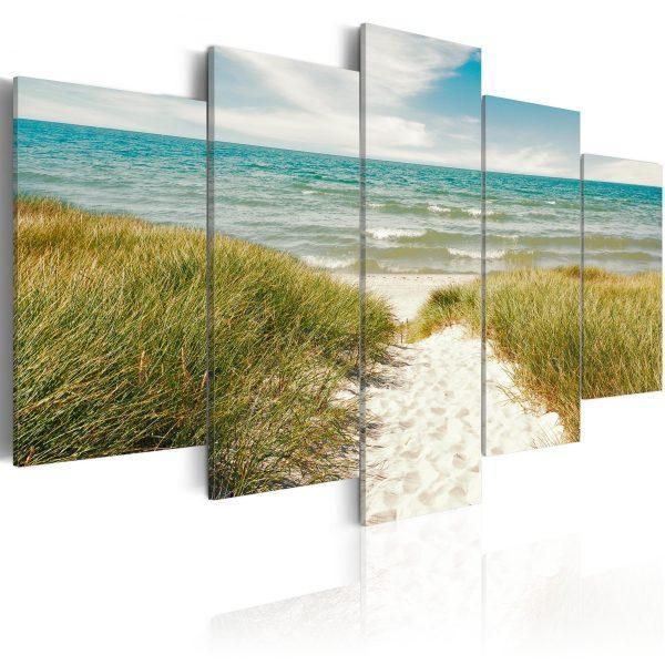 Canvas Tavla - Sea Melody - 200x100