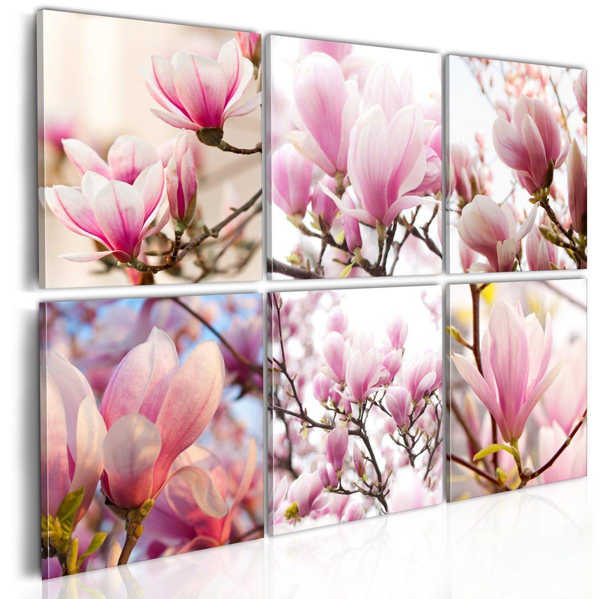 Canvas Tavla - Southern magnolias - 120x80