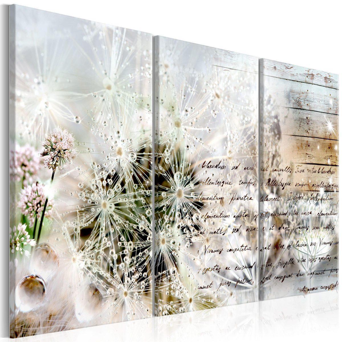 Canvas Tavla - Starry Dandelions I - 90x60