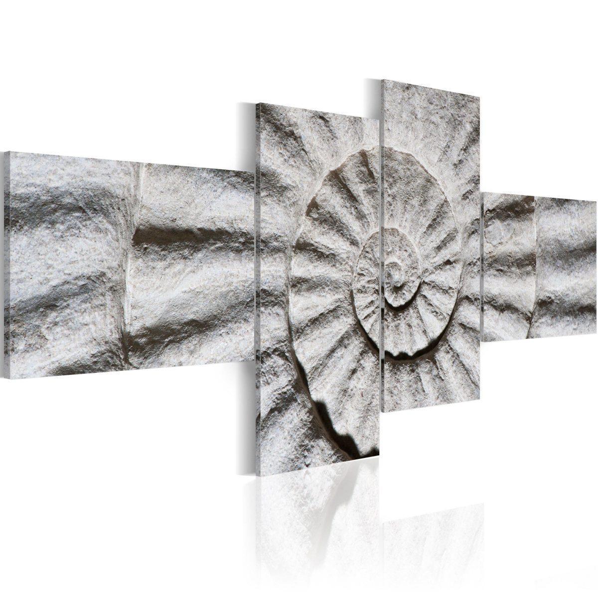 Canvas Tavla - Stone shell - 200x90