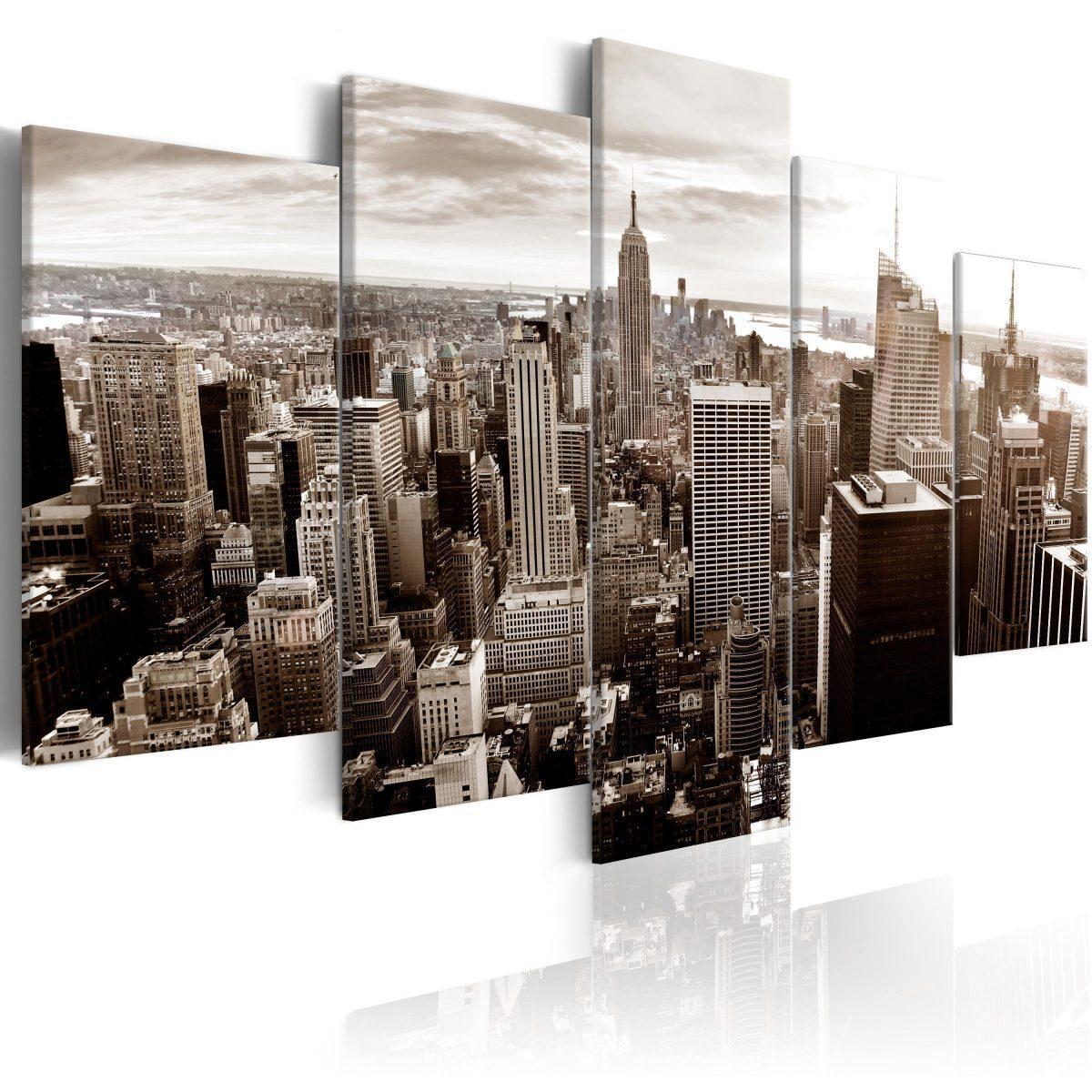 Canvas Tavla - Stylish Manhattan - 200x100