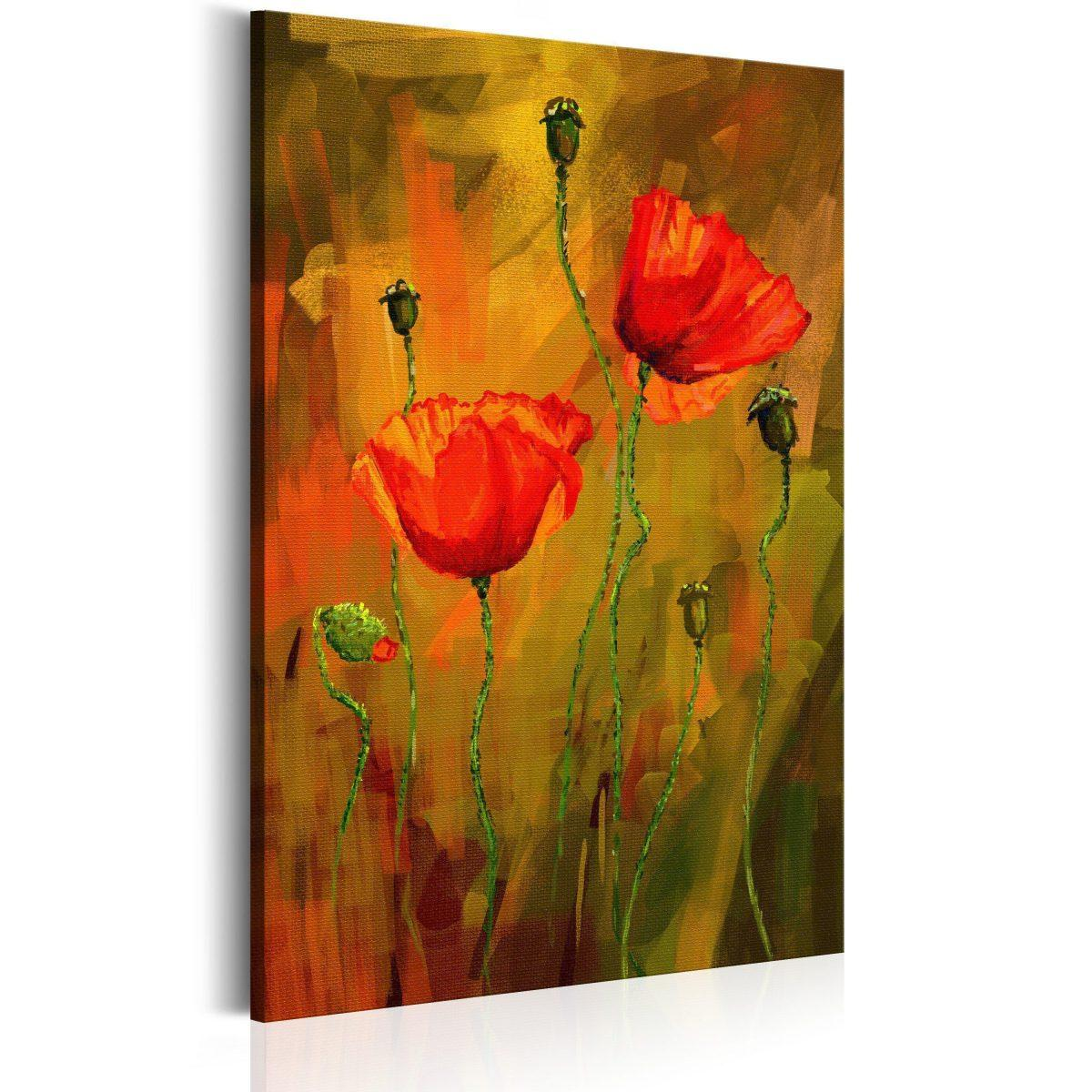Canvas Tavla - The Awakening of Poppy - 80x120