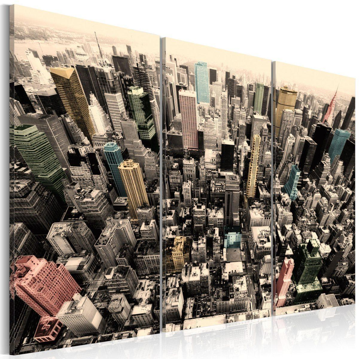 Canvas Tavla - The tallest buildings in New York City - 60x40