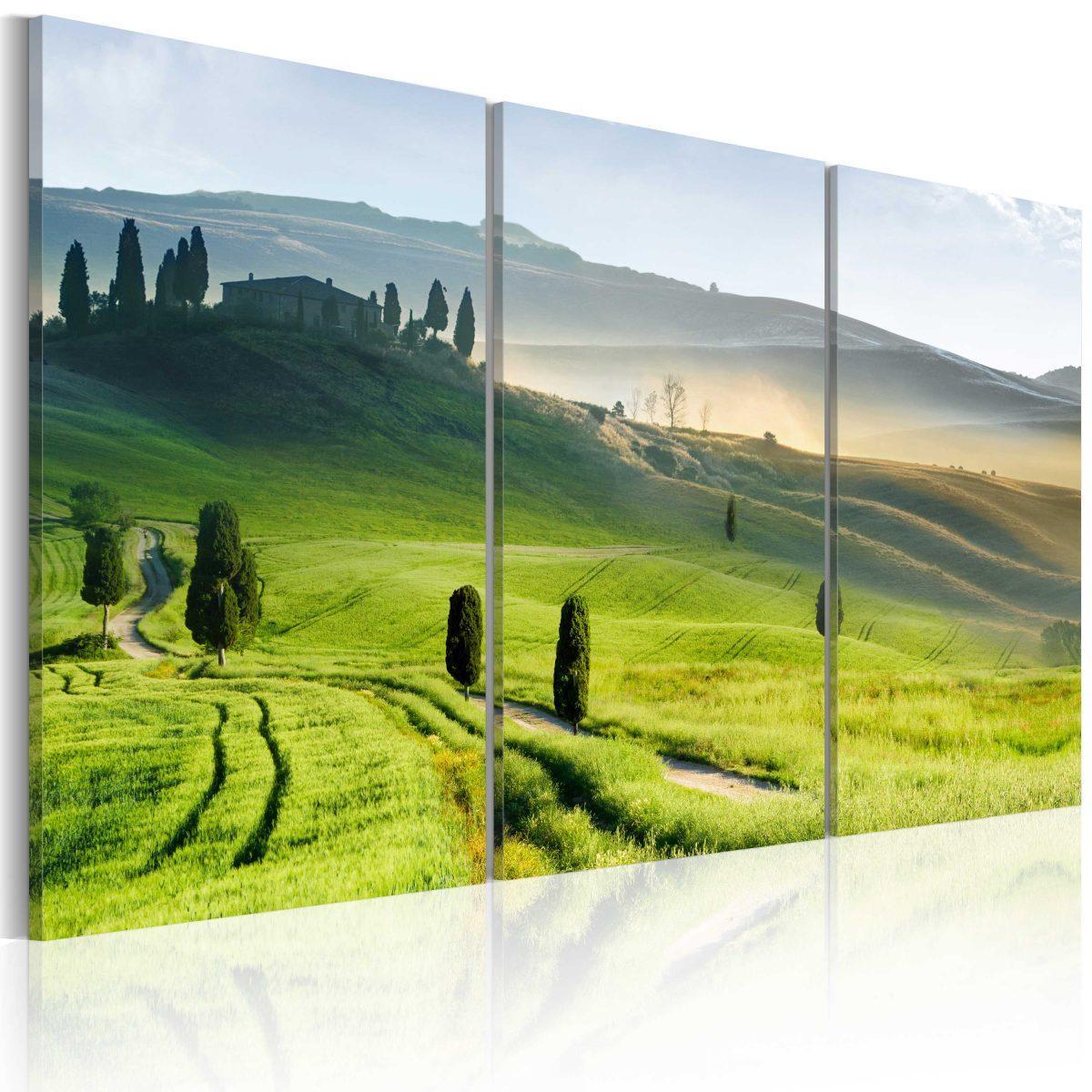 Canvas Tavla - Time of harvest - 120x80