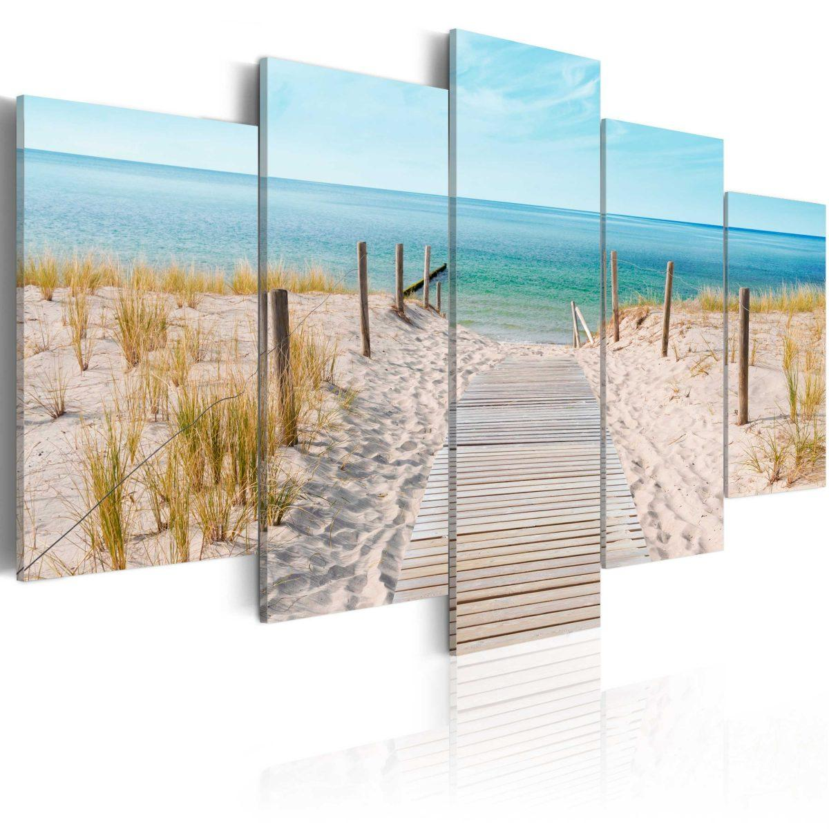 Canvas Tavla - Towards The Sea - 100x50