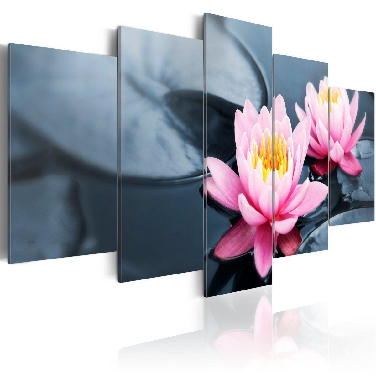 Canvas Tavla - Waterlily dream - 200x100
