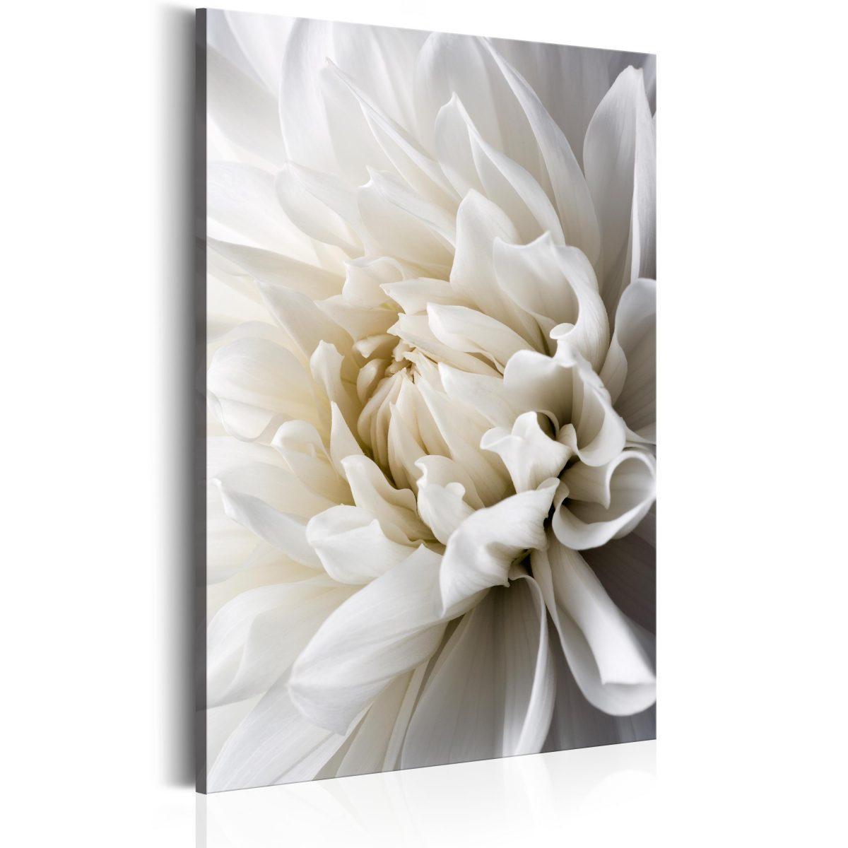 Canvas Tavla - White Dahlia - 40x60
