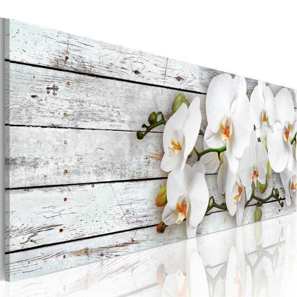 Canvas Tavla - White Dreams - 120x40