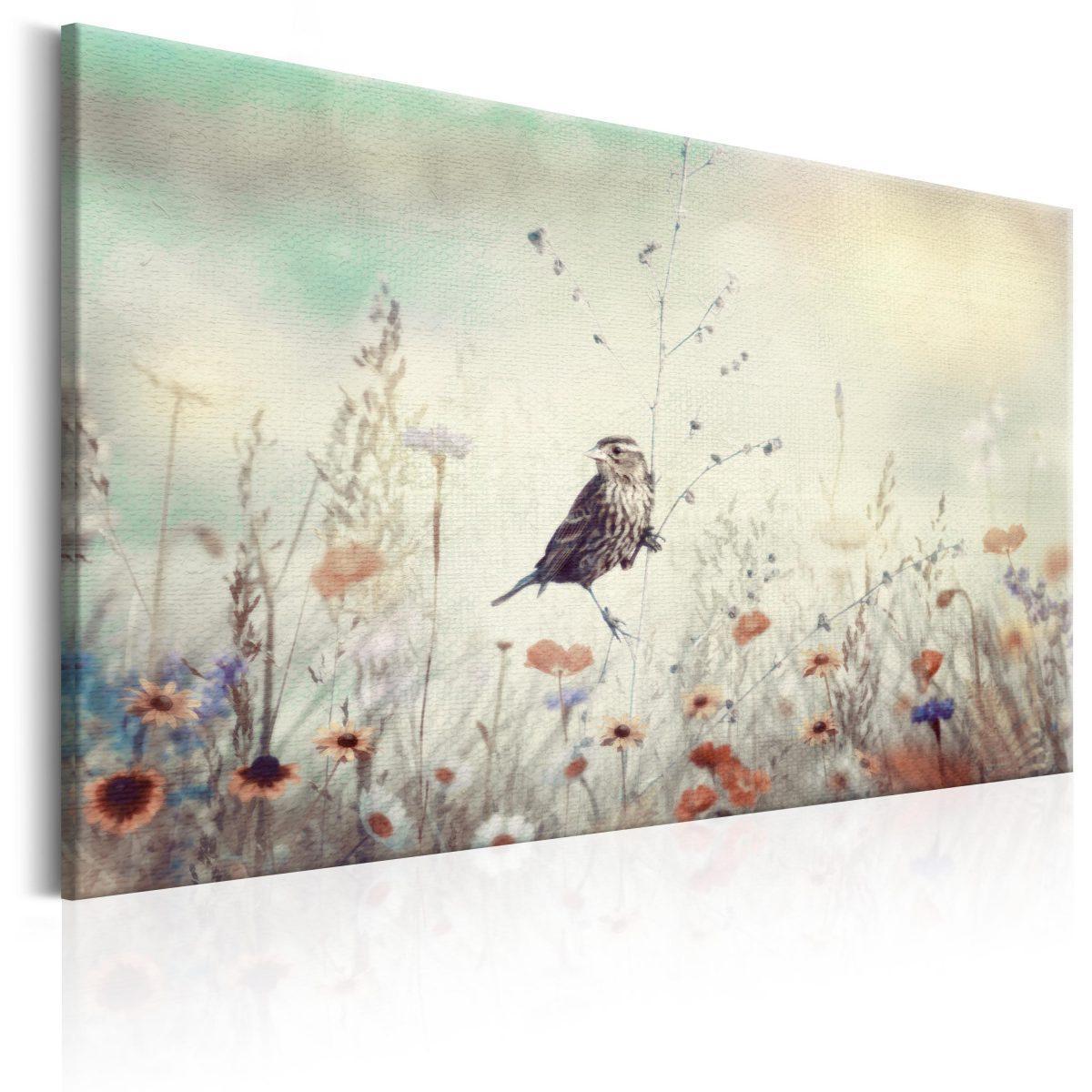 Canvas Tavla - Wild Meadow - 120x80