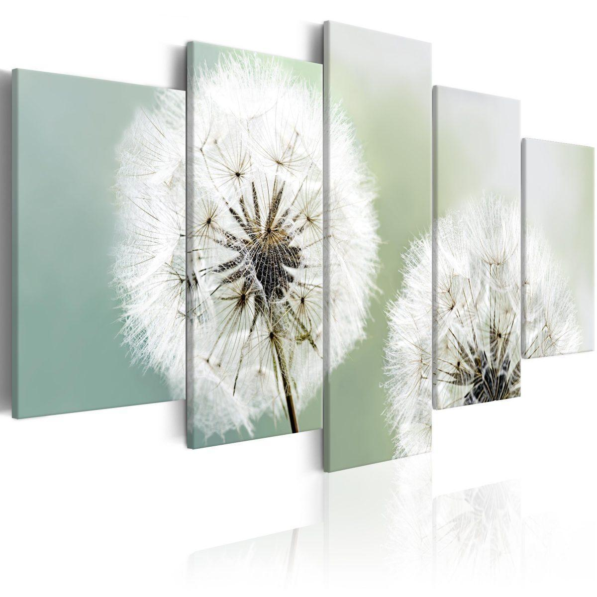 Canvas Tavla - Windless Morning - 100x50