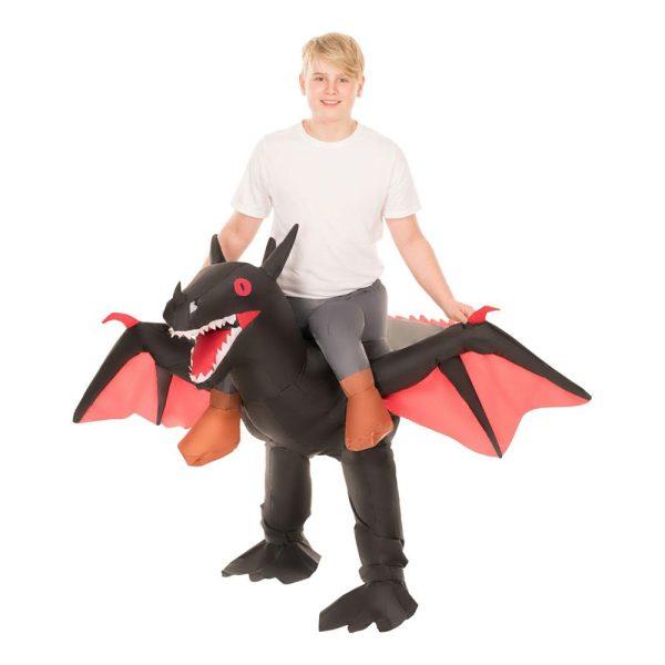 Carry Me Flygande Drake Barn Maskeraddräkt - One size