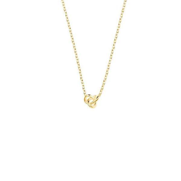 Drakenberg Sjölin Le Knot Drop Necklace Gold