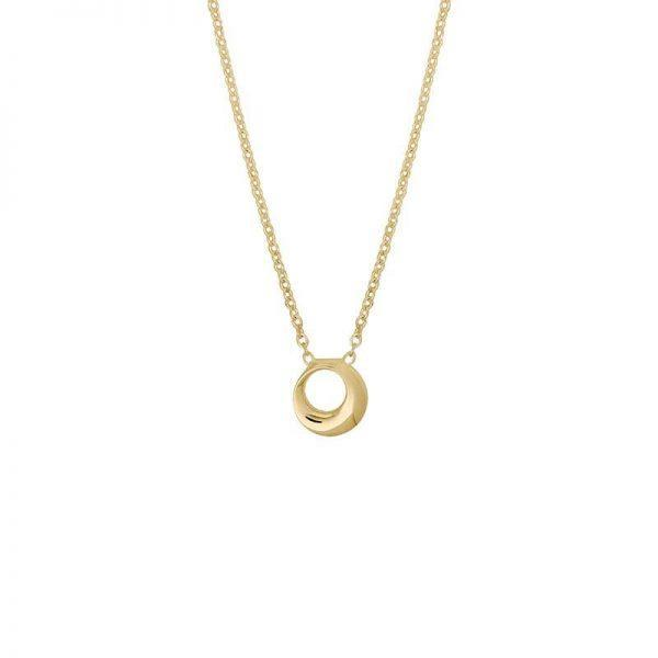 Drakenberg Sjölin Orbit Drop Necklace Gold