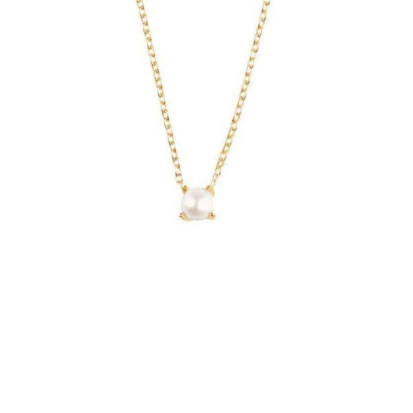 Drakenberg Sjölin Petite Pearl Necklace Gold