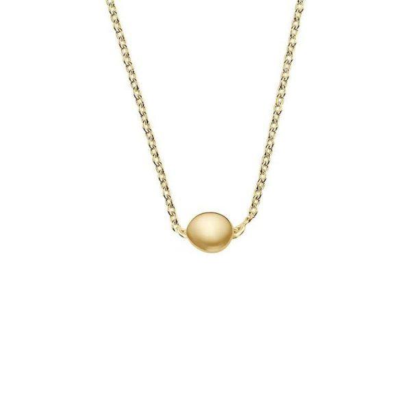 Drakenberg Sjölin Stardust Drop Necklace Polished Gold