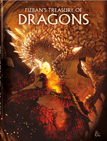 Dungeons & Dragons - Fizban's Treasury of Dragons - Alternate Cover