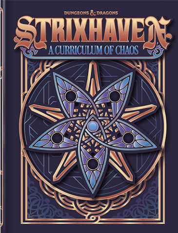 Dungeons & Dragons - Strixhaven: A Curriculum of Chaos - Alternate Cover