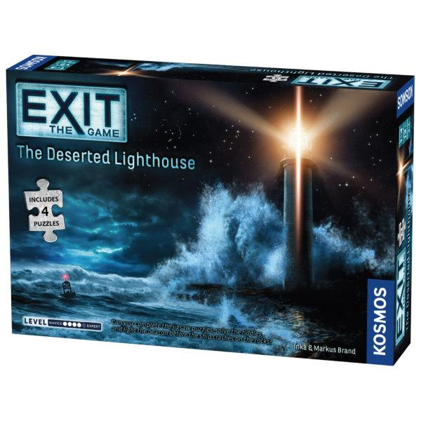EXIT + PUZZLE: The Deserted Lighthouse (Eng)