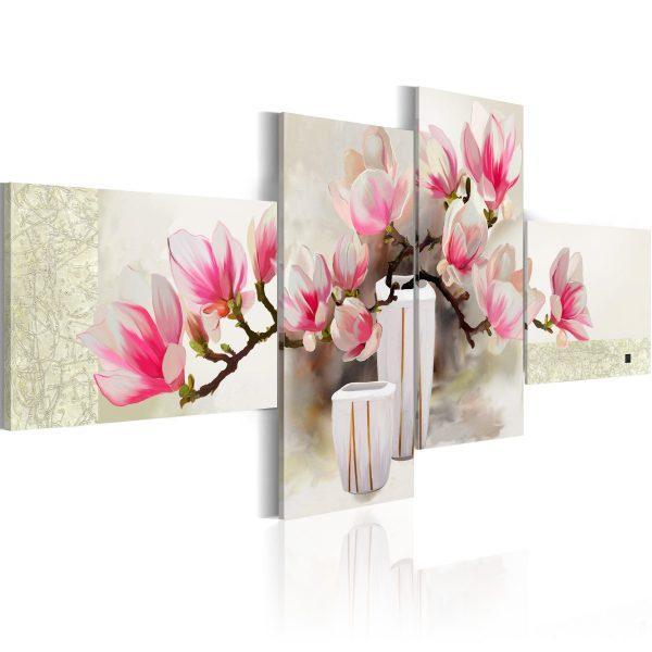 Handmålad tavla - Fragrance of magnolias