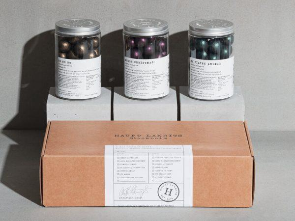 Haupt Lakrits Presentlåda - X-mas Balls of Haupt