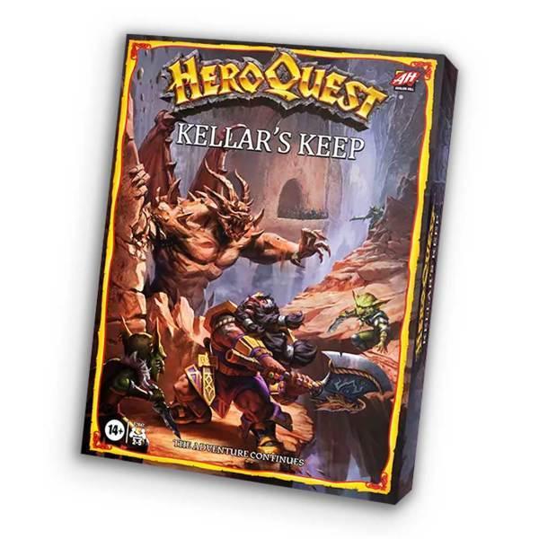 HeroQuest 2021: Kellars Keep Expansion (Eng)