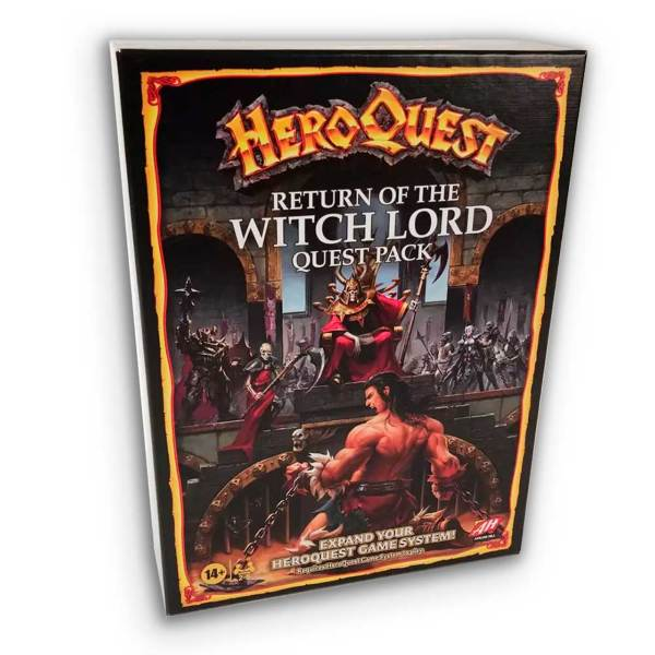 HeroQuest 2021: Return of Witchlord Expansion (Eng)