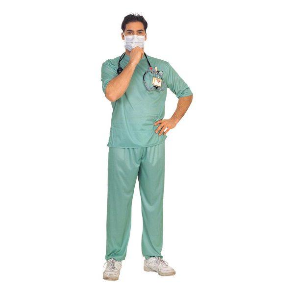 Läkare Operation Maskeraddräkt - One size