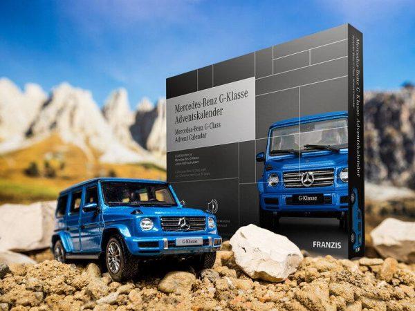 Mercedes Benz G-Klass Adventskalender