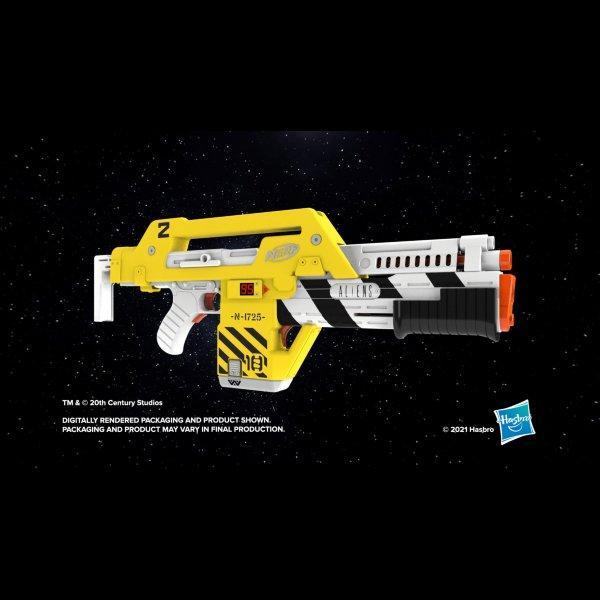 NERF LMTD Aliens M41-A Pulse Blaster