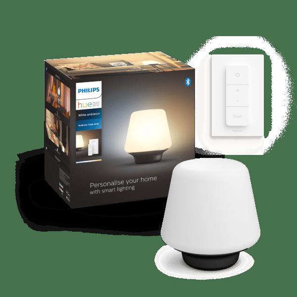 Philips Hue White Ambience Wellness bordslampa / Svart (inkl. dimmer switch)