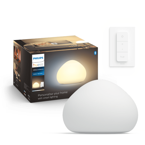 Philips Hue White Ambience Wellness bordslampa / Vit (inkl. dimmer switch)