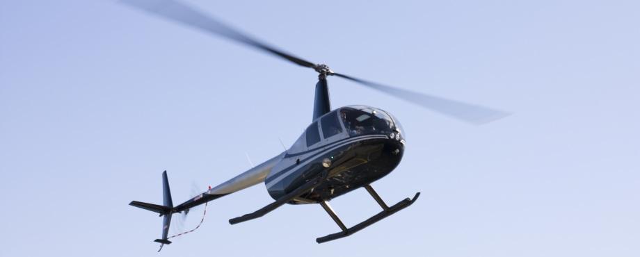 Privat Helikoptersightseeing för tre