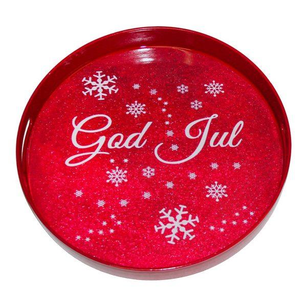 Serveringsbricka God Jul