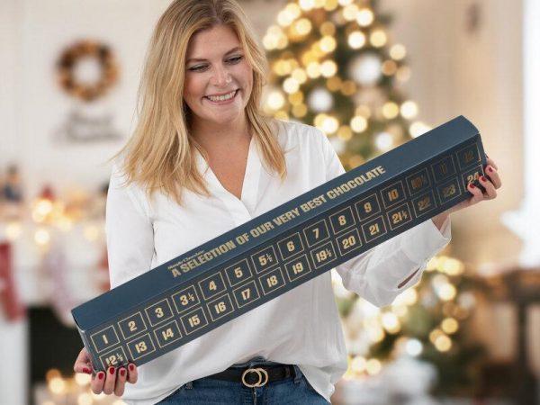 Simply Chocolate Chokladkalender För Två