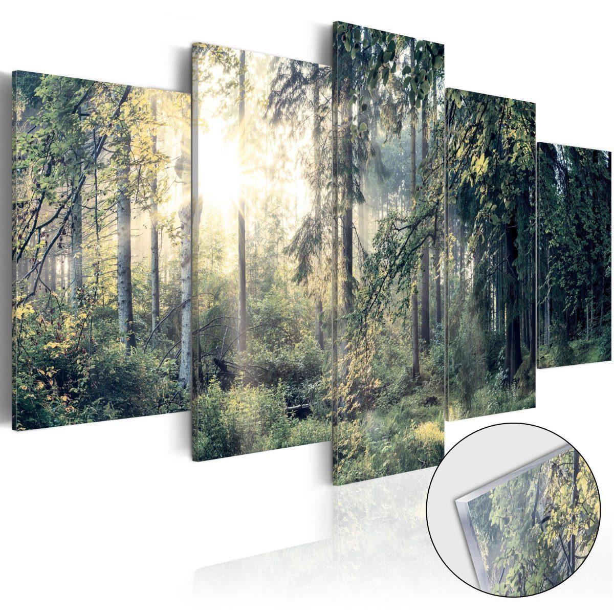 Tavla i akrylglas - Fairytale Landscape - 100x50