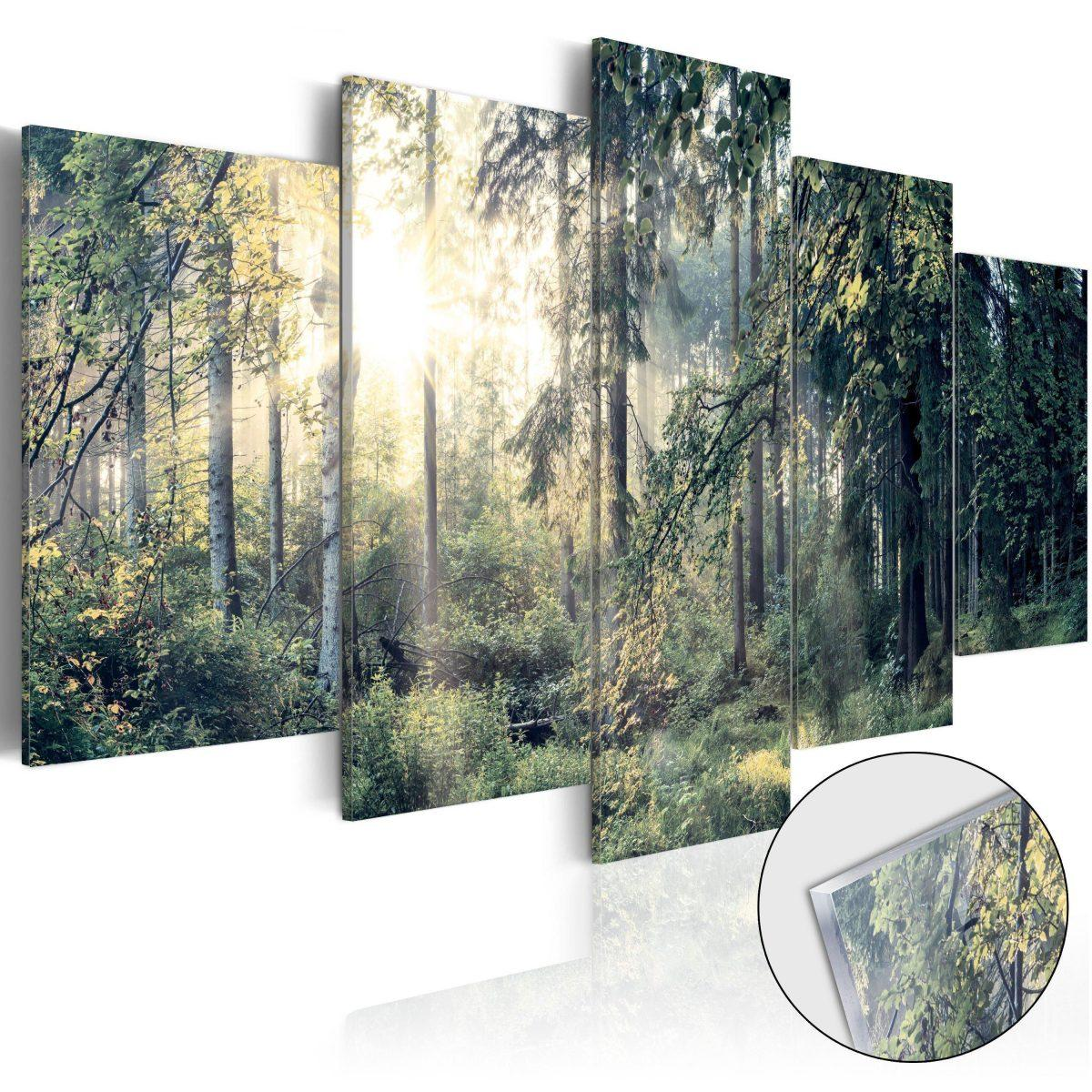 Tavla i akrylglas - Fairytale Landscape - 200x100