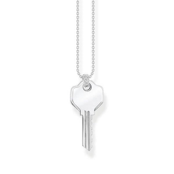 Thomas Sabo Halsband Detaljerad Nyckel
