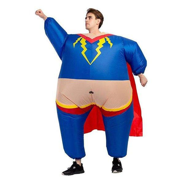 Uppblåsbar Superhjälte Maskeraddräkt - One size