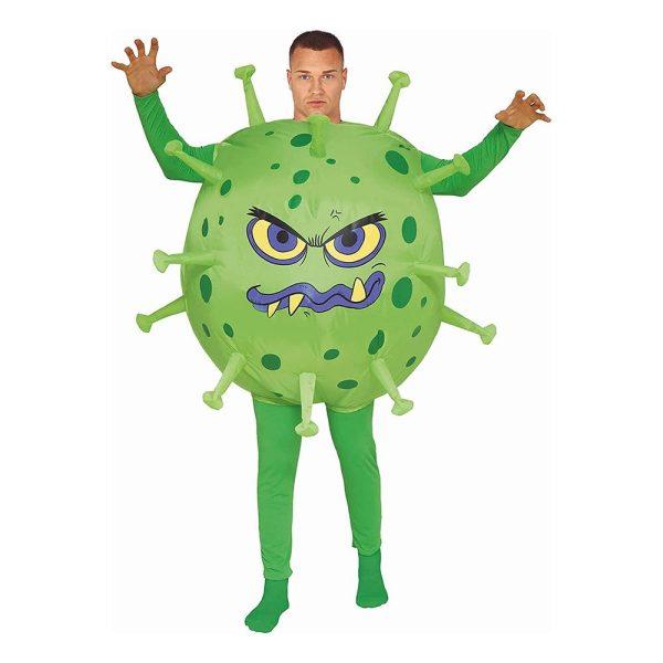 Uppblåsbart Virus Maskeraddräkt - One size